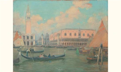 venise le palais des doges by vianello