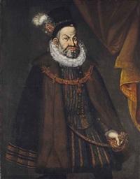 portrait de l'empereur rodolphe ii de habsbourg by hans von aachen