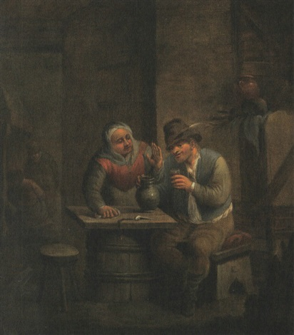 scène de taverne by egbert van heemskerck the younger