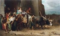 la patricienne romaine expulsée by andré hennebicq