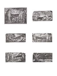the wood engravings of william blake for thornton's virgil (set of 17) by william blake