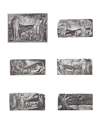 the wood engravings of william blake for thorntons virgil set of 17 by william blake