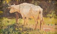 белая корова by nikolai nikanorovich dubovskoy