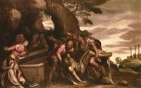 deposizione di cristo by paolo farinati