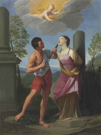 the martyrdom of saint apollonia by guido reni
