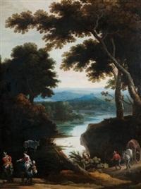 paysage animé by jan wildens