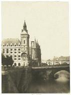 tour de l'horloge du palais by françois auguste renard