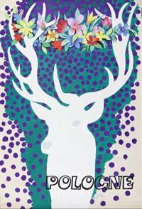 pologne (poster design) by tadeusz gronowski