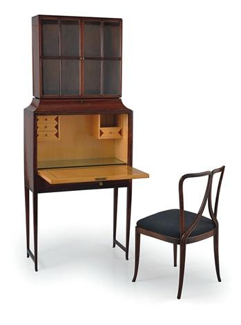 Scrittoio a ribalta con sedia 2 works by Guglielmo Ulrich on ...