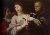 la mort de cléopatre by lionello spada
