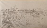 une revue navale by raoul dufy