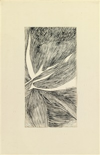 drawing no. 201 by louise bourgeois