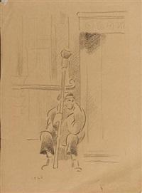 a seated figure by vladimir tatlin
