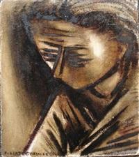 femme pensive by roberta gonzales
