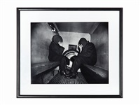 in the paddy wagon by weegee