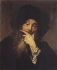 autoportrait by anthoni schoonjans