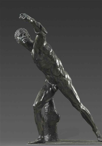 borghese gladiator by anonymous italian 20