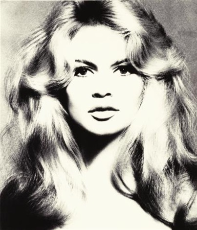 brigitte bardot, hair by alexandre, paris studio by richard avedon
