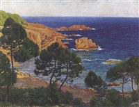 les roches rouges by eugene alluaud
