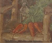 nature morte aux carottes by georges bouche