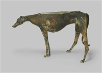 windhund (stehend) by franz fischer
