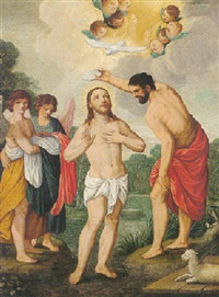 the baptism of christ by arthur johann könig
