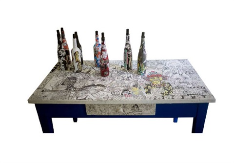 Table By Jean Marc Nahas