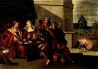 parabole de lazare et le mauvais riche by ambrosius francken the elder