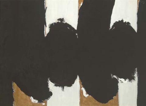 elegy to the spanish republic 122 by robert motherwell