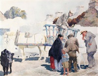 the hay cart by lilian lucy davidson