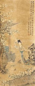 仕女图 by xu ju'an
