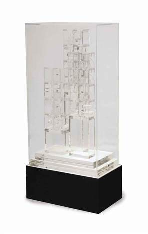 transparent sculpture vii by louise nevelson