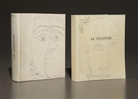 la célestine (book with 71 works) by pablo picasso