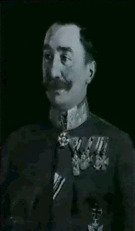 kuk feldmarschalleutnant peter freiherr von hofmann kommandant des xxv korps dessog karpathen korps by anton hans karlinsky