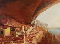 cliff palace, mesa verde by amos andas