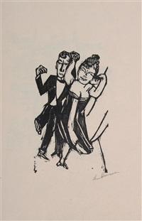 tanzendes paar by max beckmann