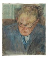 portrait de monsieur loir by lucien adrion