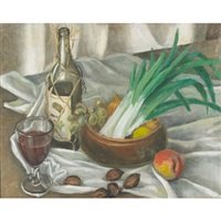 leeks by lucile blanch