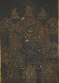thangka of yama dharmaraja by anonymous-tibetan (18)