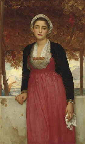 amarilla by lord frederick leighton