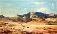 hans-heysen-the-druids,-flinders-range,-south-australia-1932.jpg (200×120)