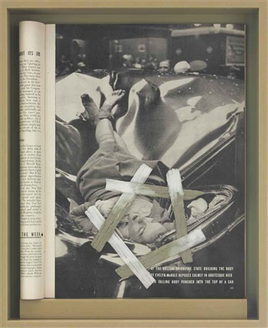 drawing restraint 17 evelyn mchale by matthew barney