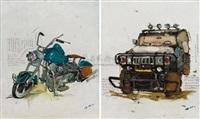 motor, hummer by zhang wei