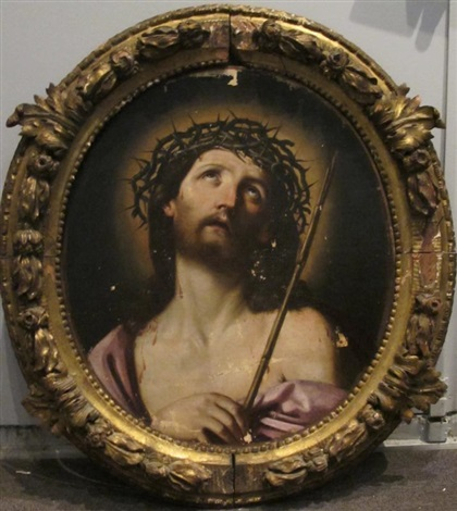 christ couronné dépines by guido reni