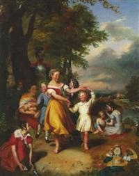 jeunes filles de la légion d'honneur by charles fournier