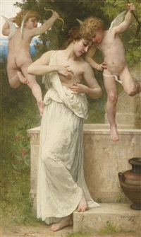 blessures d'amour by william adolphe bouguereau