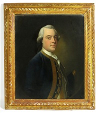 portrait of a naval officer, traditionally identified as sir george pocock (1706-1792) by thomas hudson