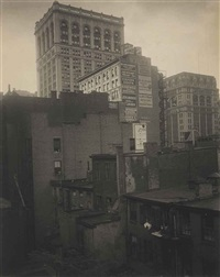 from the back window -- 291 -- n.y. by alfred stieglitz