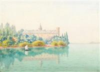 l'abbaye de haute combe by auguste pegurier