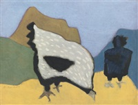 hens by milton avery